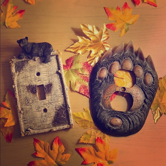 Country Bear Light Switch Plate & Outlet CoverNWOT